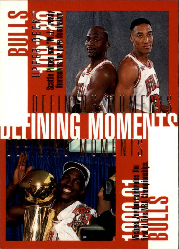 4d2ae50f51 1997-98 Upper Deck #334 Michael Jordan/Scottie Pippen/Dennis Rodman/ ...