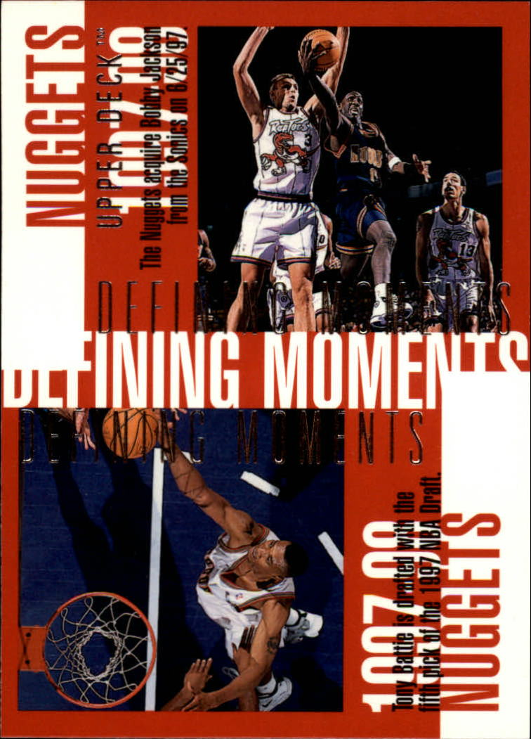 1997-98 Upper Deck #337 Bobby Jackson/Tony Battie/Dikembe Mutombo/LaPhonso Ellis