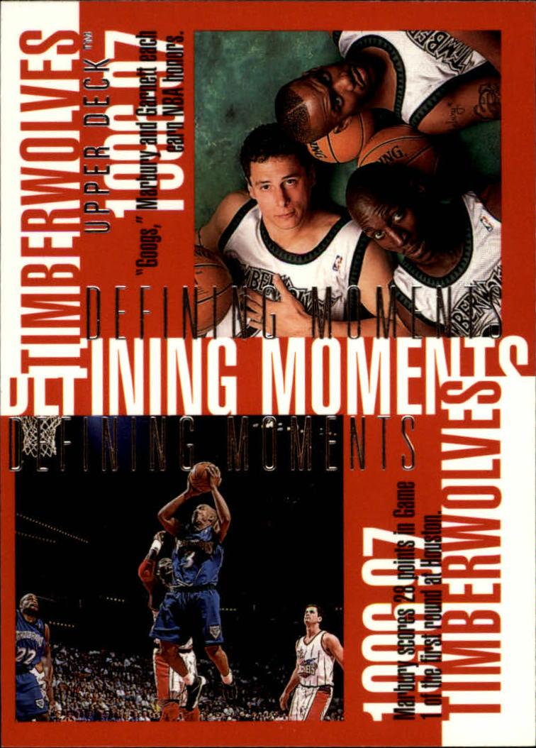 1997-98 Upper Deck #346 Kevin Garnett/Stephon Marbury/Tom Gugliotta/Sam Mitchell/Isaiah Rider