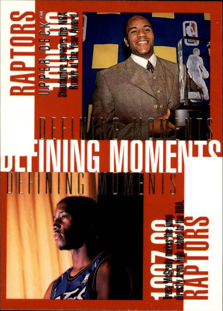 1997-98 Upper Deck #356 Damon Stoudamire/Tracy McGrady/Marcus Camby/Walt Williams