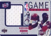 1997-98 Upper Deck Game Jerseys #GJ10 Hakeem Olajuwon