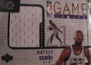 1997-98 Upper Deck Game Jerseys #GJ16 Marcus Camby