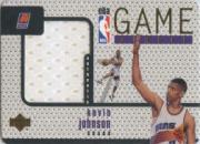 1997-98 Upper Deck Game Jerseys #GJ18 Kevin Johnson