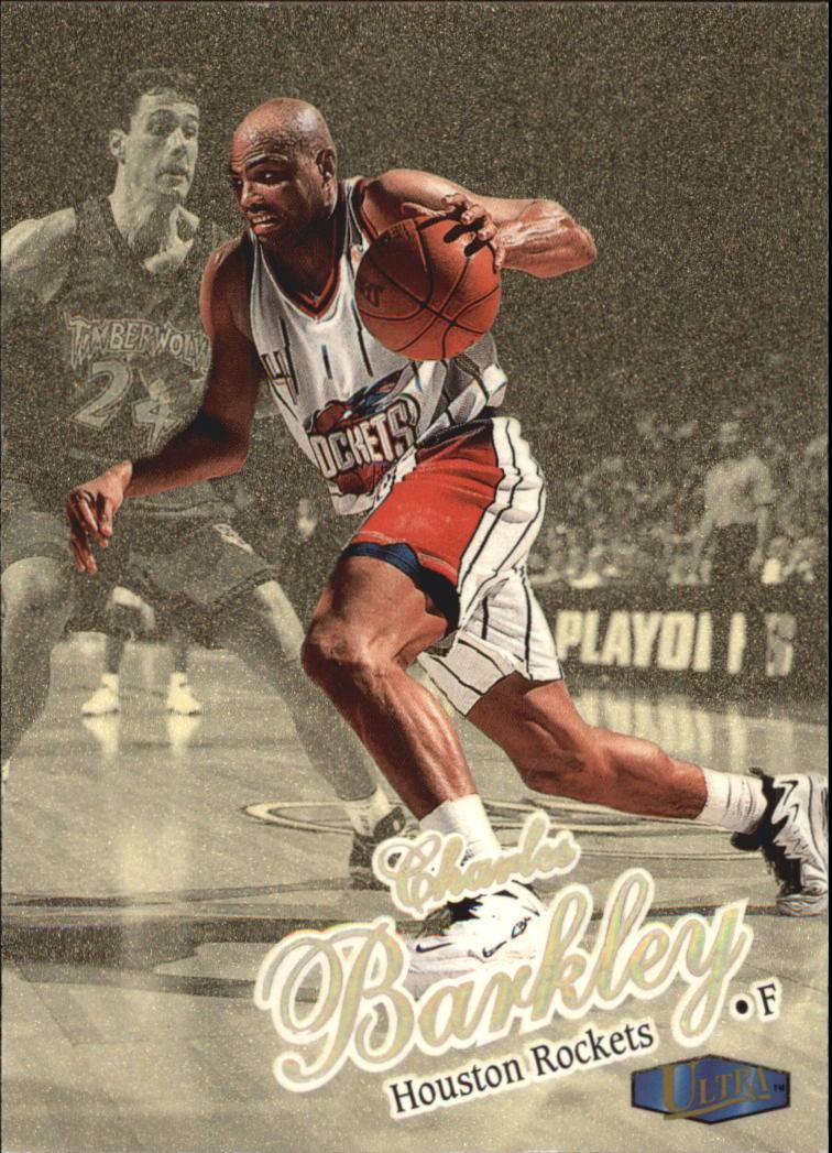 1997-98 Ultra Gold Medallion #2 Charles Barkley