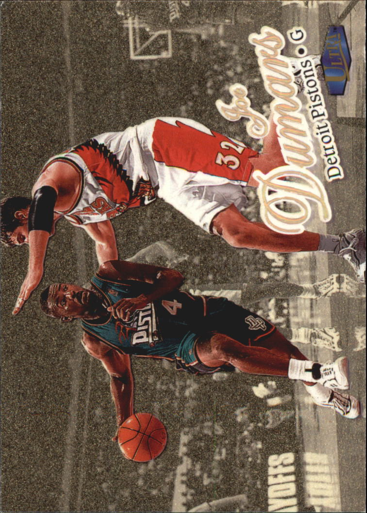1997-98 Ultra Gold Medallion #3 Joe Dumars