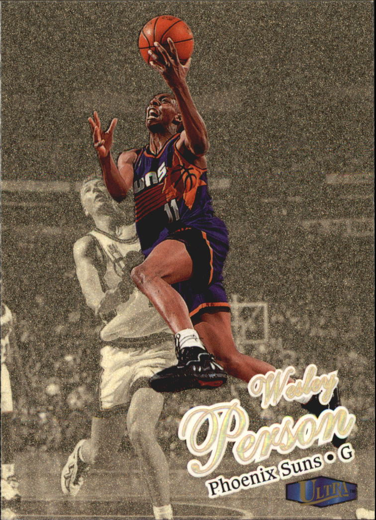 1997-98 Ultra Gold Medallion #4 Wesley Person