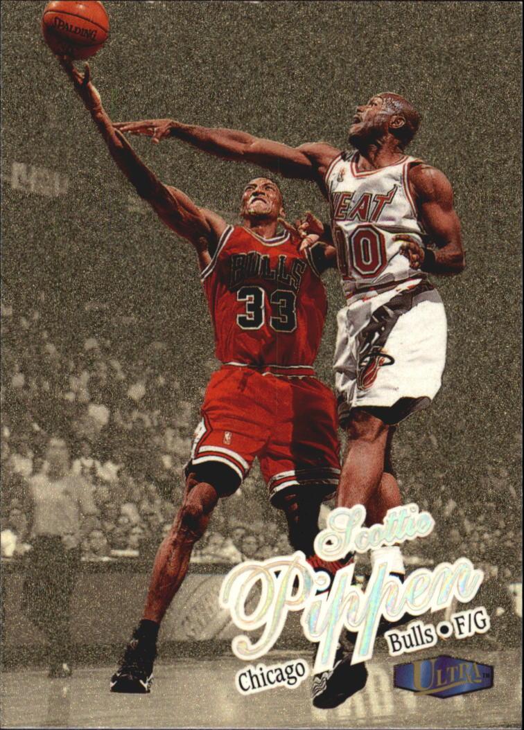 1997-98 Ultra Gold Medallion #55 Scottie Pippen