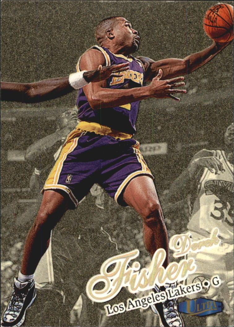 1997-98 Ultra Gold Medallion #120 Derek Fisher
