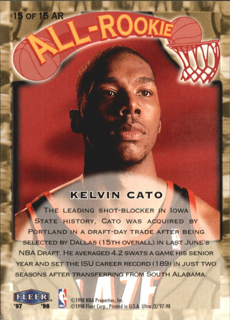 1997-98-Ultra-All-Rookies-Basketball-Cards-Pick-From-List thumbnail 11