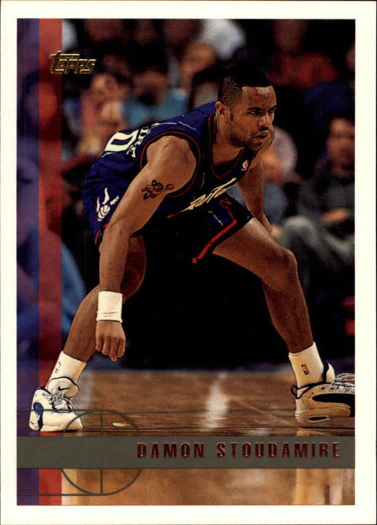 1997-98 Topps #7 Damon Stoudamire