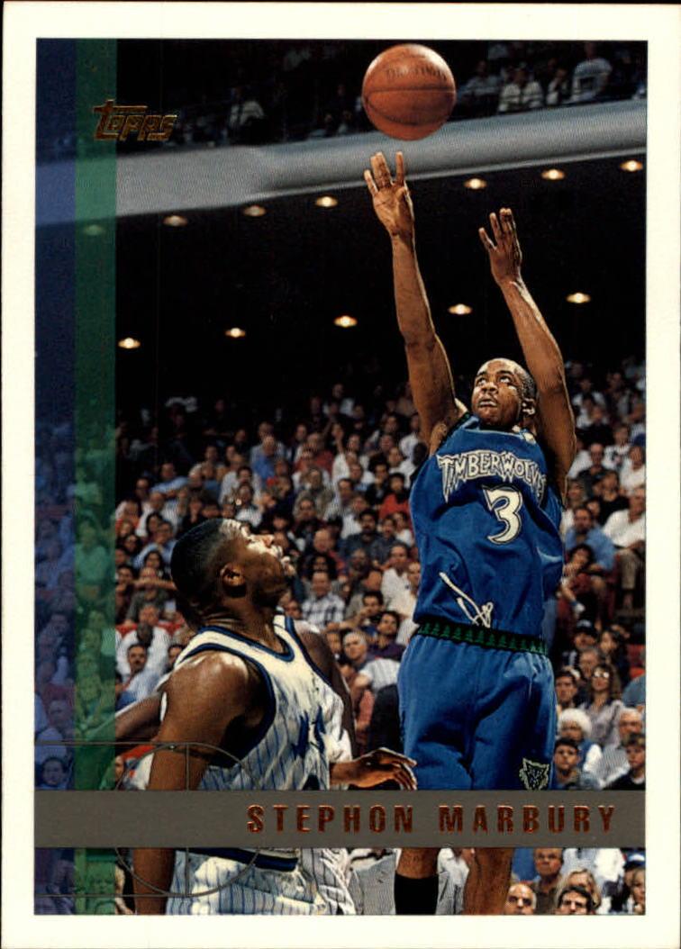 1997-98 Topps #13 Stephon Marbury