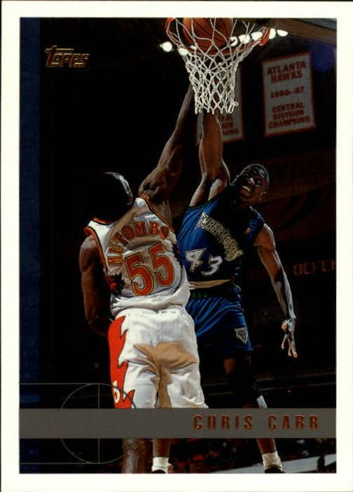 1997-98 Topps #66 Chris Carr