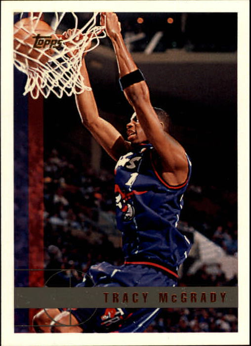 1997-98 Topps #125 Tracy McGrady RC