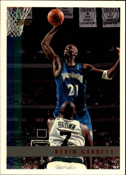 1997-98 Topps #148 Kevin Garnett