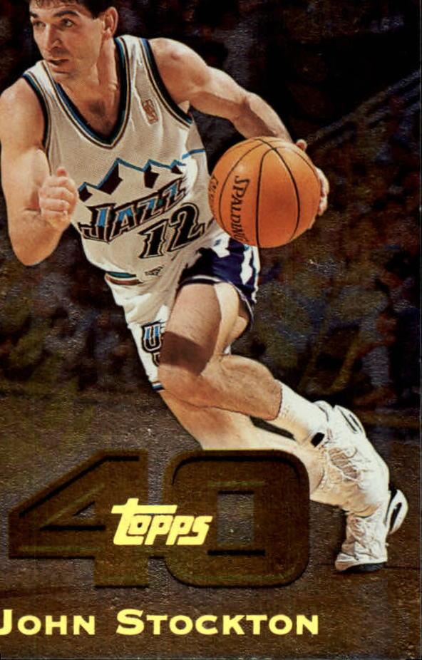 1997-98 Topps Topps 40 #T25 John Stockton