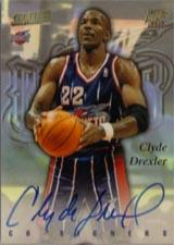 1997-98 Stadium Club Co-Signers #CO4 Clyde Drexler/Tim Hardaway