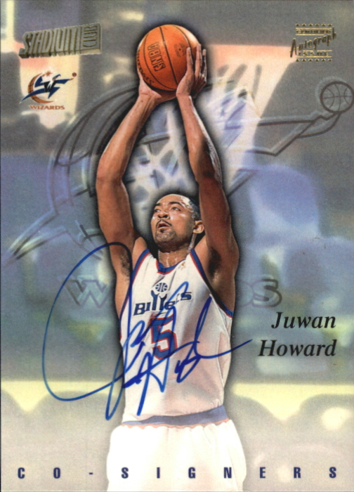 1997-98 Stadium Club Co-Signers #CO9 Juwan Howard/Clyde Drexler