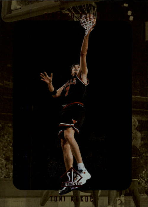 1997-98 SP Authentic #18 Toni Kukoc