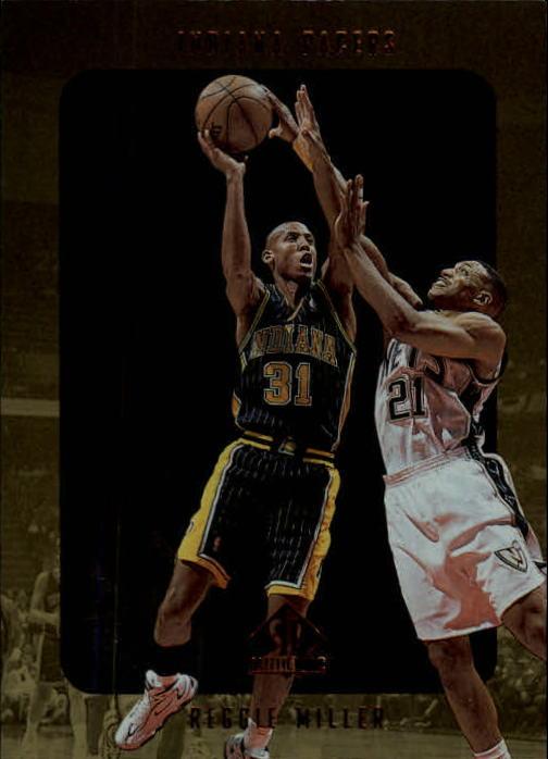 1997-98 SP Authentic #55 Reggie Miller