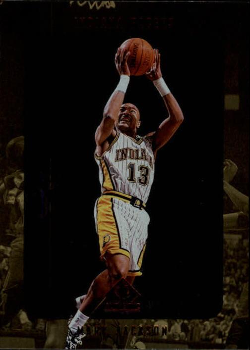1997-98 SP Authentic #60 Mark Jackson