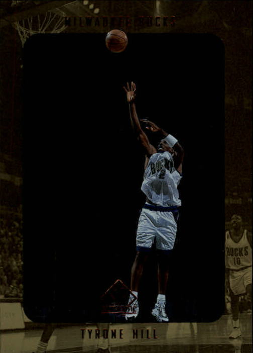 1997-98 SP Authentic #80 Tyrone Hill