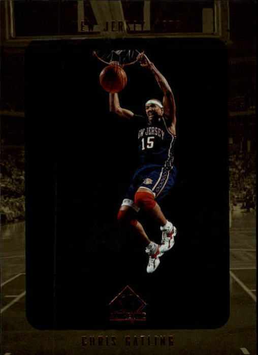 1997-98 SP Authentic #87 Chris Gatling