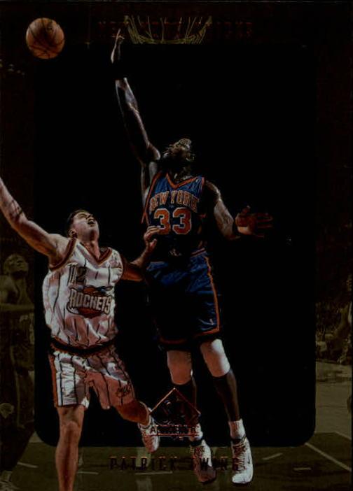 1997-98 SP Authentic #92 Patrick Ewing