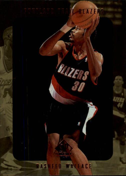 1997-98 SP Authentic #117 Rasheed Wallace
