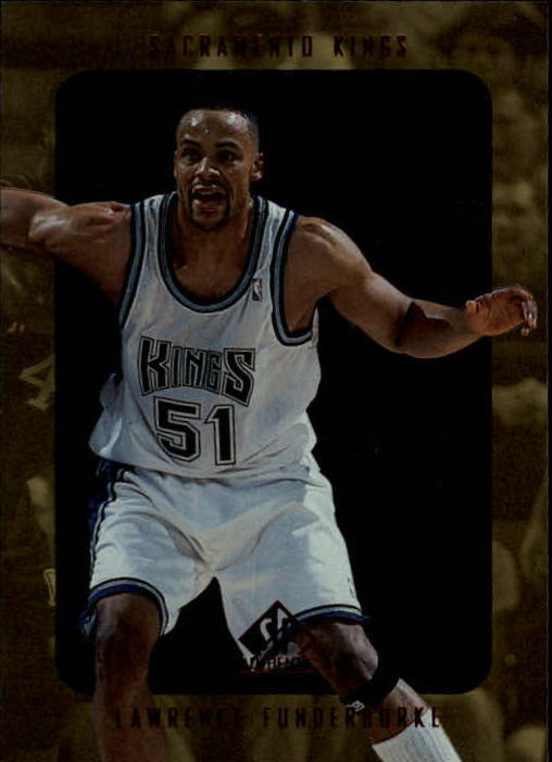 1997-98 SP Authentic #122 Lawrence Funderburke RC