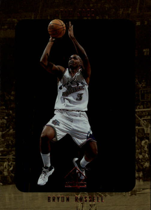 1997-98 SP Authentic #142 Bryon Russell