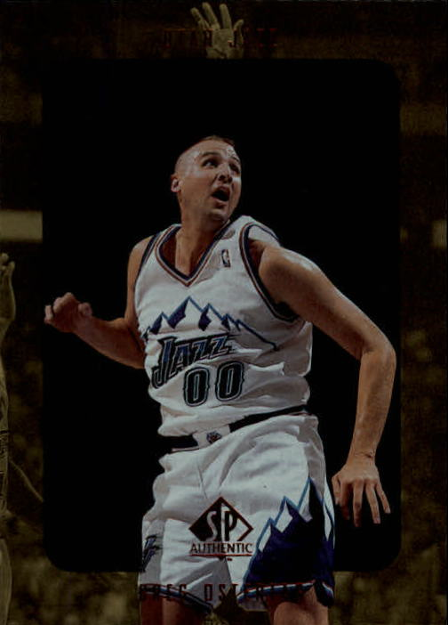 1997-98 SP Authentic #144 Greg Ostertag