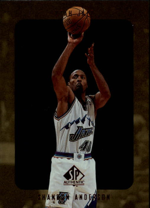 1997-98 SP Authentic #146 Shandon Anderson