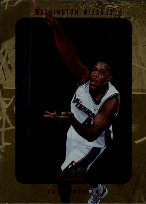 1997-98 SP Authentic #152 Chris Webber