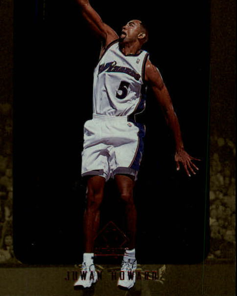 1997-98 SP Authentic #153 Juwan Howard