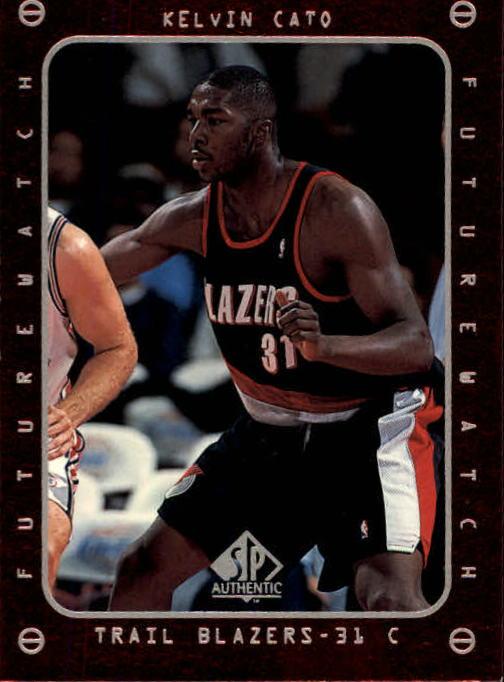1997-98 SP Authentic #162 Kelvin Cato FW RC