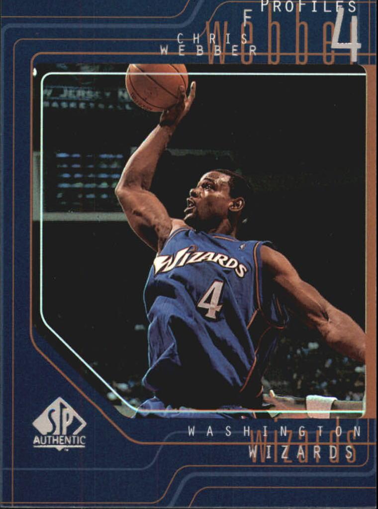 1997-98 SP Authentic Profiles 1 #P17 Chris Webber