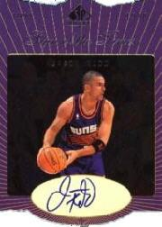 1997-98 SP Authentic Sign of the Times Stars and Rookies #JK Jason Kidd