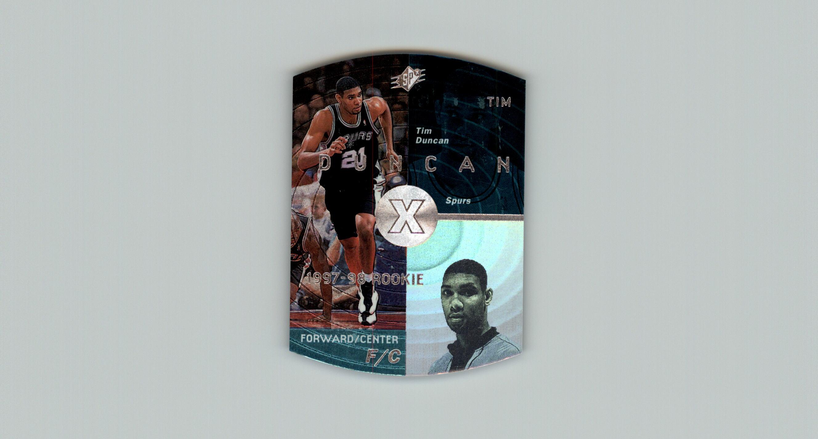 1997-98 SPx #37 Tim Duncan RC