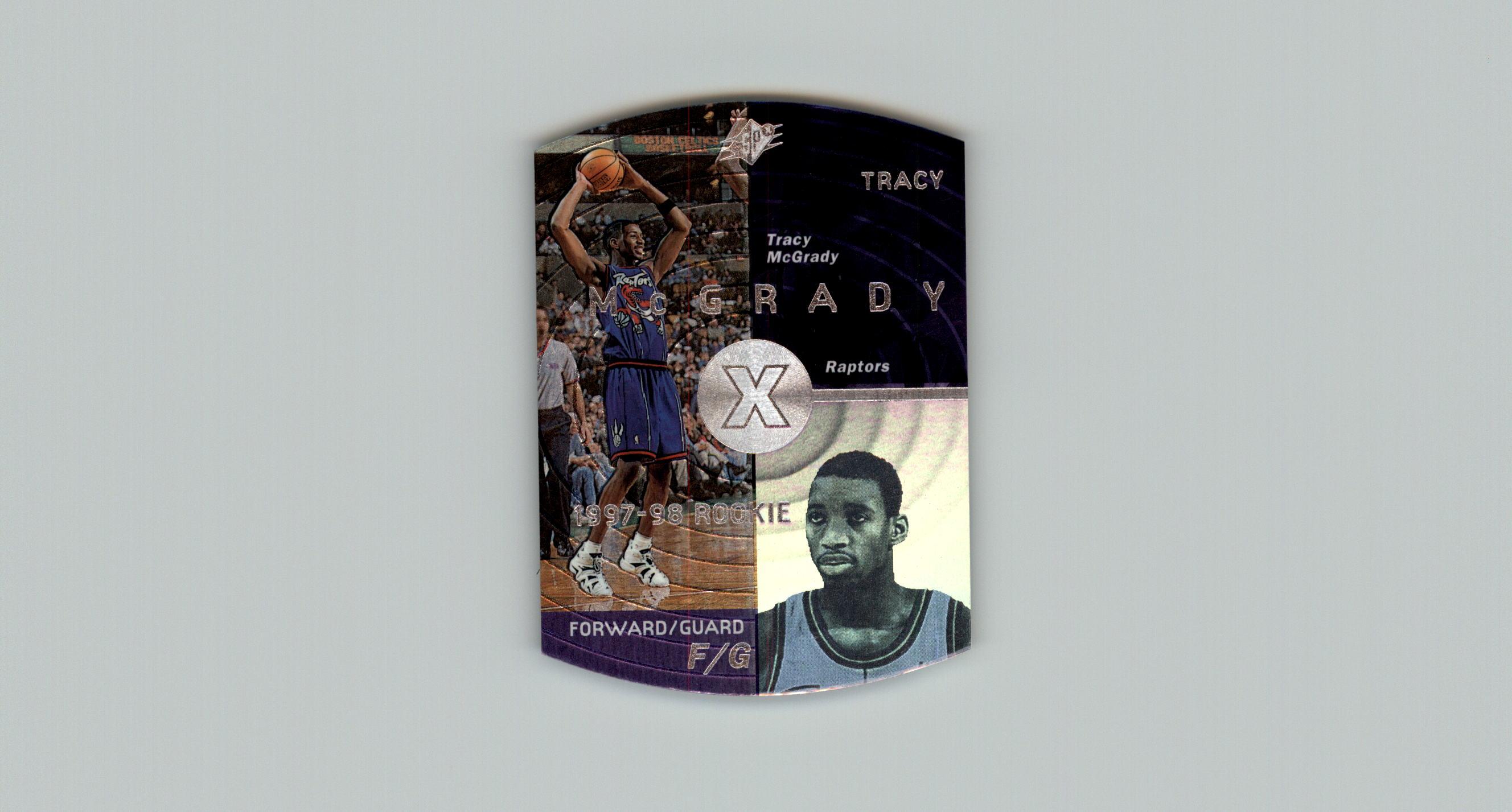 1997-98 SPx #42 Tracy McGrady RC