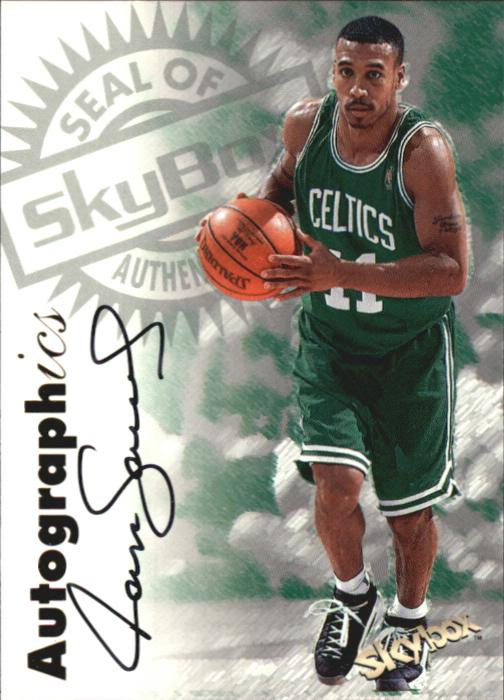 1997-98 SkyBox Premium Autographics #9 Dana Barros