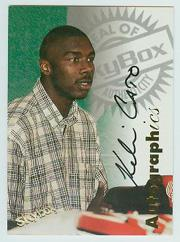 1997-98 SkyBox Premium Autographics #20 Kelvin Cato