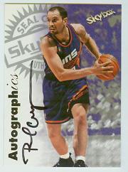 1997-98 SkyBox Premium Autographics #22 Rex Chapman