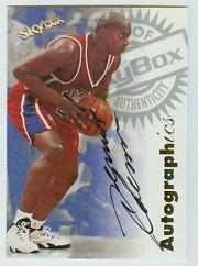 1997-98 SkyBox Premium Autographics #25 Derrick Coleman