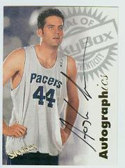 1997-98 SkyBox Premium Autographics #26 Austin Croshere