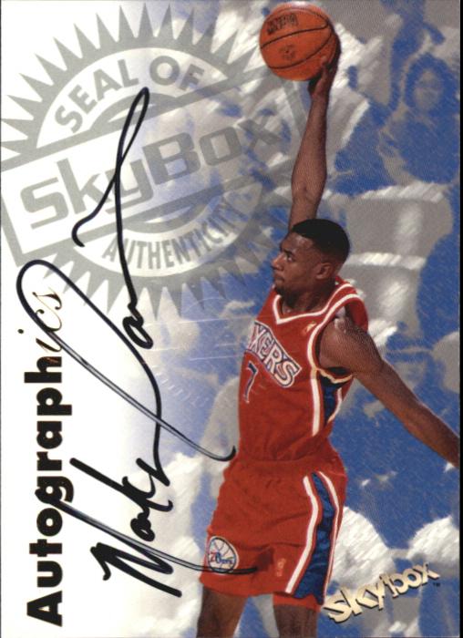 1997-98 SkyBox Premium Autographics #29 Mark Davis
