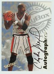 1997-98 SkyBox Premium Autographics #33 Clyde Drexler