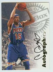 1997-98 SkyBox Premium Autographics #41 Chris Gatling