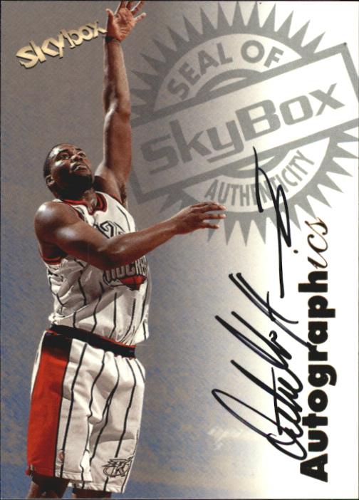 1997-98 SkyBox Premium Autographics #47 Othella Harrington
