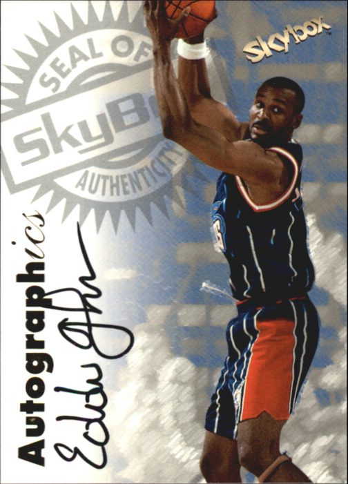 1997-98 SkyBox Premium Autographics #56 Eddie Johnson