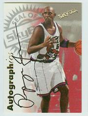 1997-98 SkyBox Premium Autographics #59 Popeye Jones